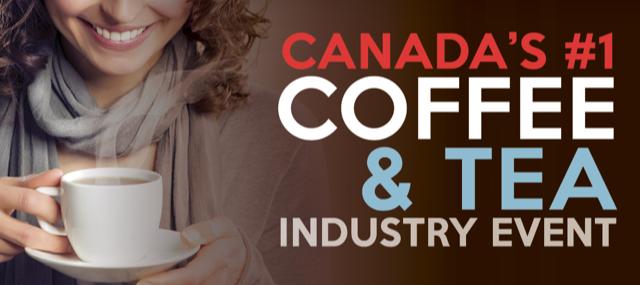 2018 THE CANADIAN COFFEE & TEA SHOWに出展します。